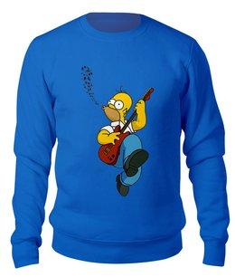 "Свитшот унисекс хлопковый ""Гомер Симпсон"" - гомер, симпсоны, мульт"
