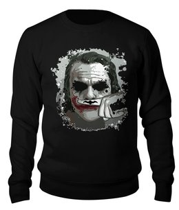 """Свитшот унисекс хлопковый """"Джокер"""" - joker, batman, джокер, бэтман"""