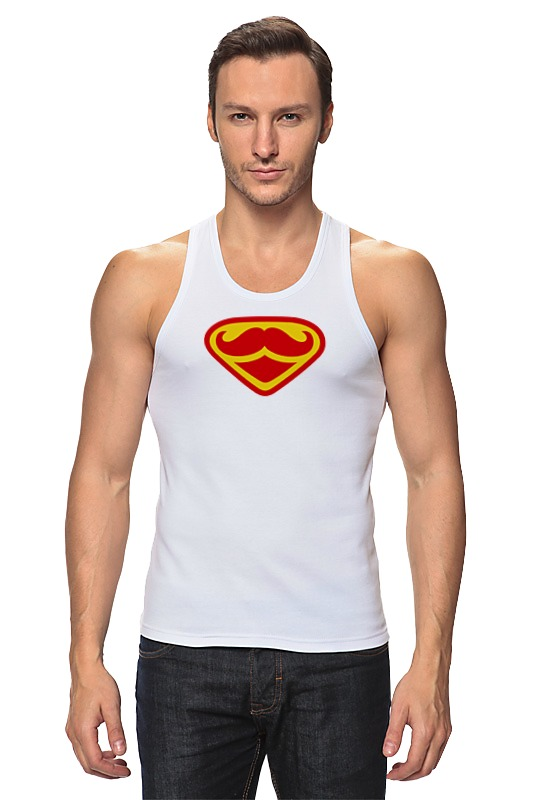 купить Printio Супермен-усач-бородач по цене 710 рублей