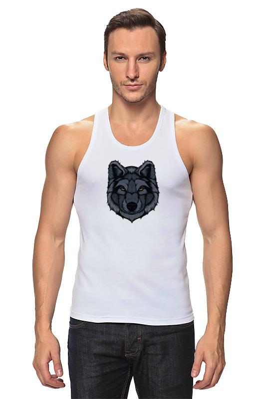 Майка классическая Printio Волк (wolf) майка print bar wolf cubs