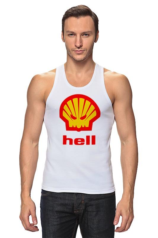 Майка классическая Printio Hell (ад) agip масло моторное в краснодаре