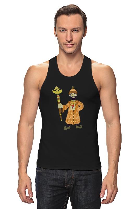 Майка классическая Printio Просто царь футболка классическая printio царь просто