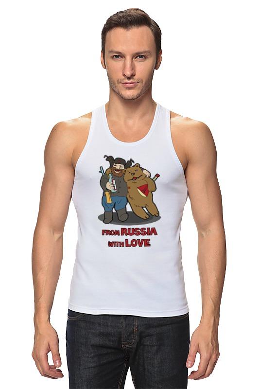 Майка классическая Printio From russia with love (из россии  любовью)