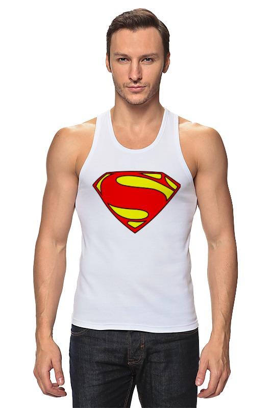 Майка классическая Printio Superman romanson tl 9214 mj wh
