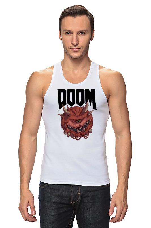 Майка классическая Printio Doom game print bar doom