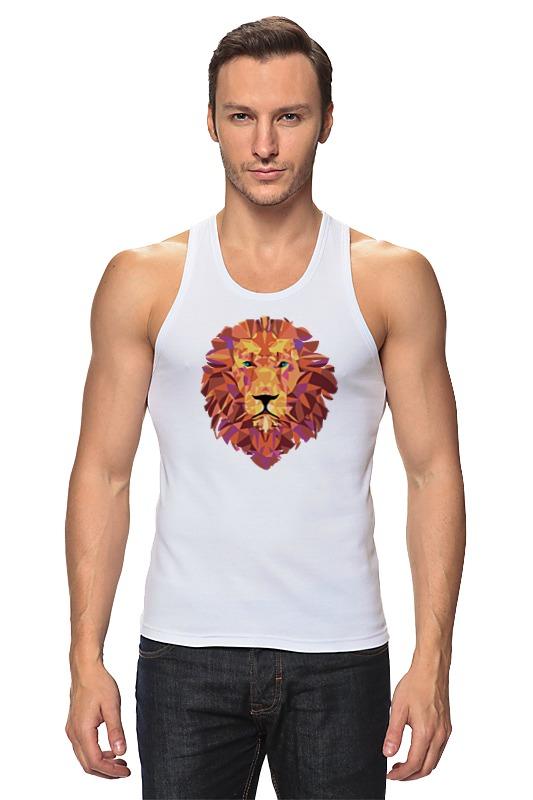 Майка классическая Printio Лев (lion) venus venus двухфазное средство для снятия макияжа с глаз и лица для всех типов кожи 200 мл