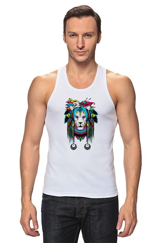Майка классическая Printio Шаман-лев (ж) детская футболка классическая унисекс printio шаман лев ж