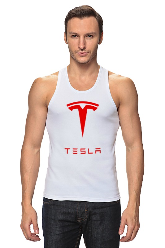 Майка классическая Printio Тесла моторс цена и фото