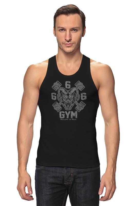 Майка классическая Printio 666 gym майка борцовка print bar drogos gym