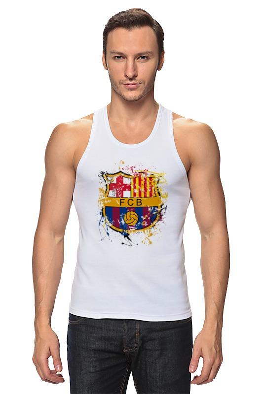 Майка классическая Printio Барселона чартер для всех