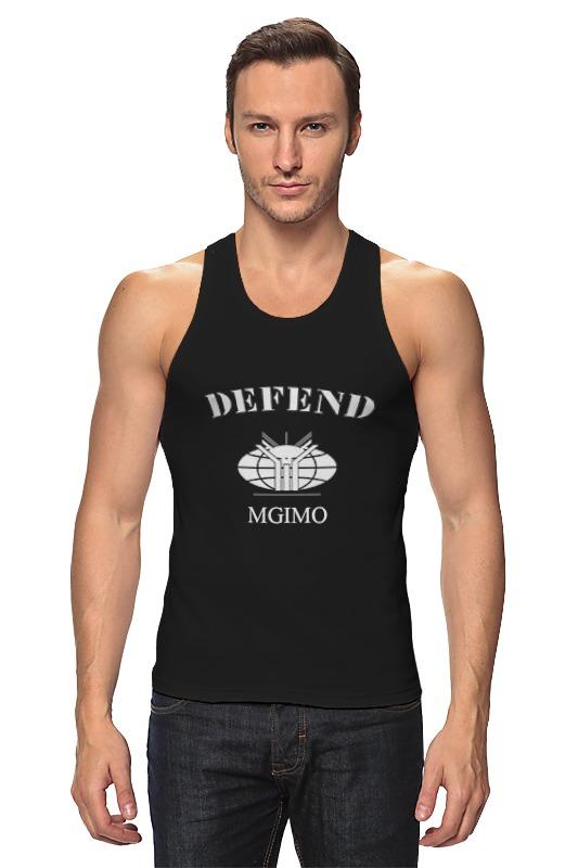 цена Майка классическая Printio Defend mgimo