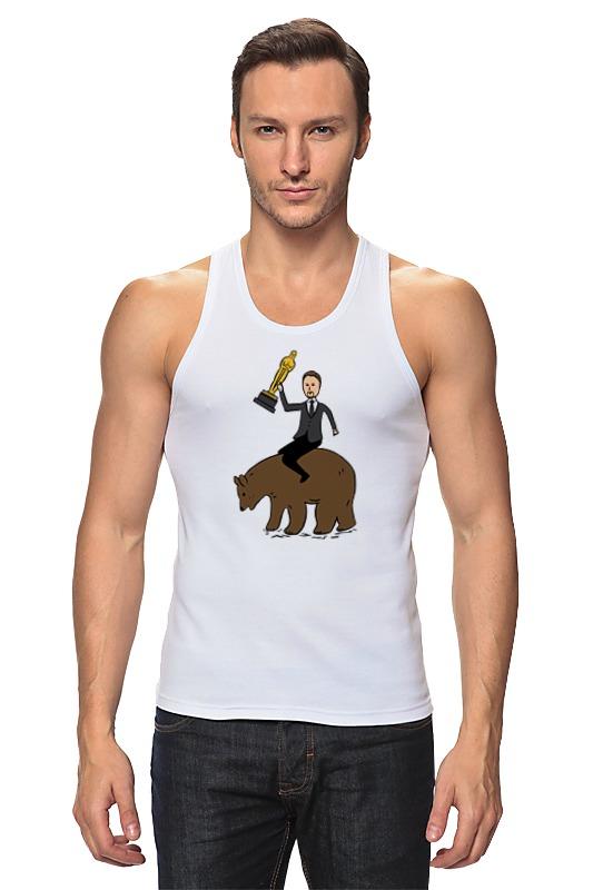 Майка классическая Printio Ди каприо с оскаром на медведе лина ди открой