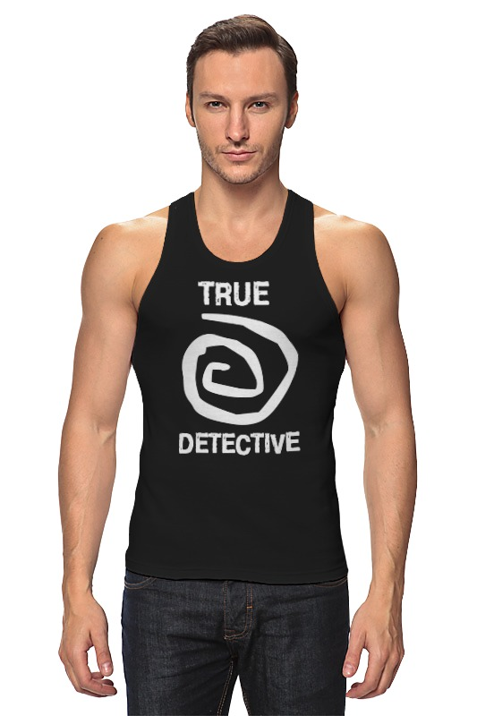 Майка классическая Printio True detective detective cross
