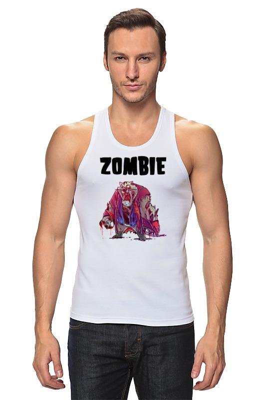 цена Printio Zombie cat онлайн в 2017 году
