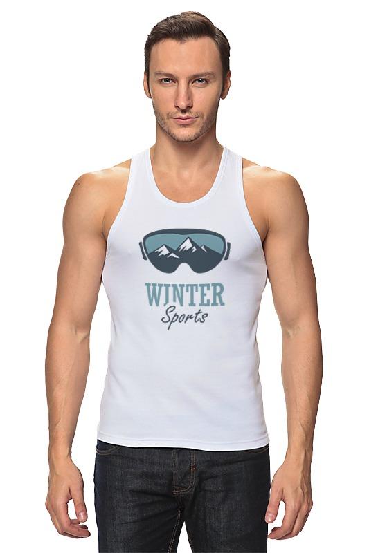 Майка классическая Printio Зимний спорт (winter sport)