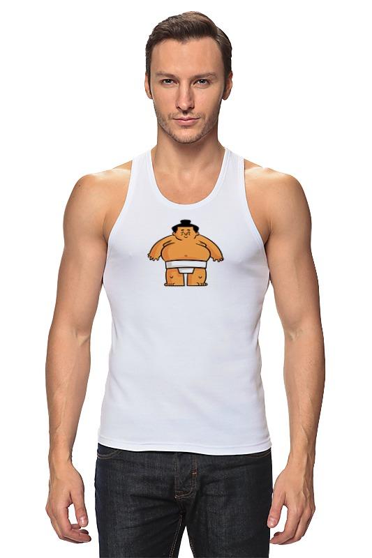 Printio Борец сумо детская футболка классическая унисекс printio борец сумо