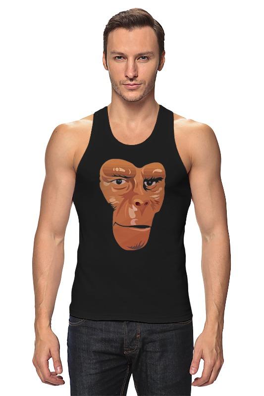 Майка классическая Printio Обезьяна (планета обезьян) футболка с полной запечаткой для девочек printio планета обезьян planet of the apes