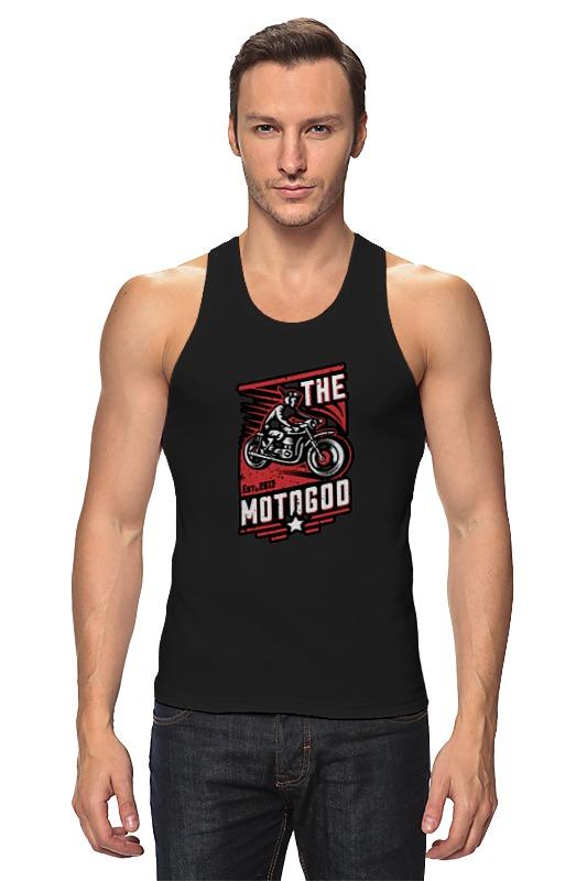 Майка классическая Printio The motogod цена