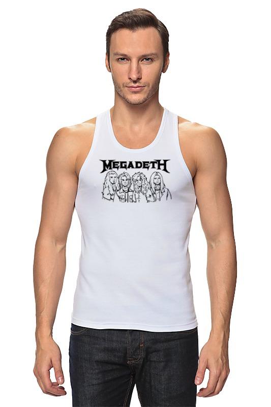 Майка классическая Printio Megadeth megadeth