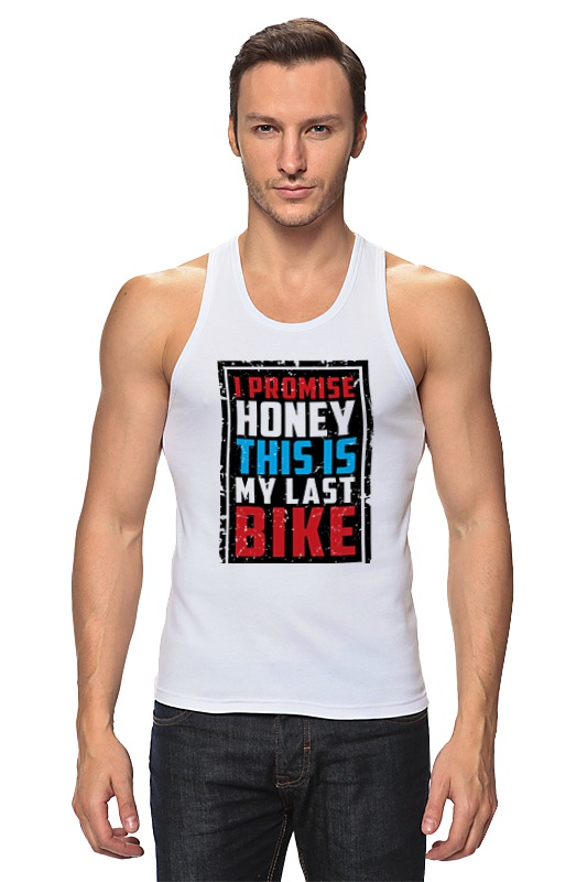 Printio I promise honey this is my last bike (врунишка) цена