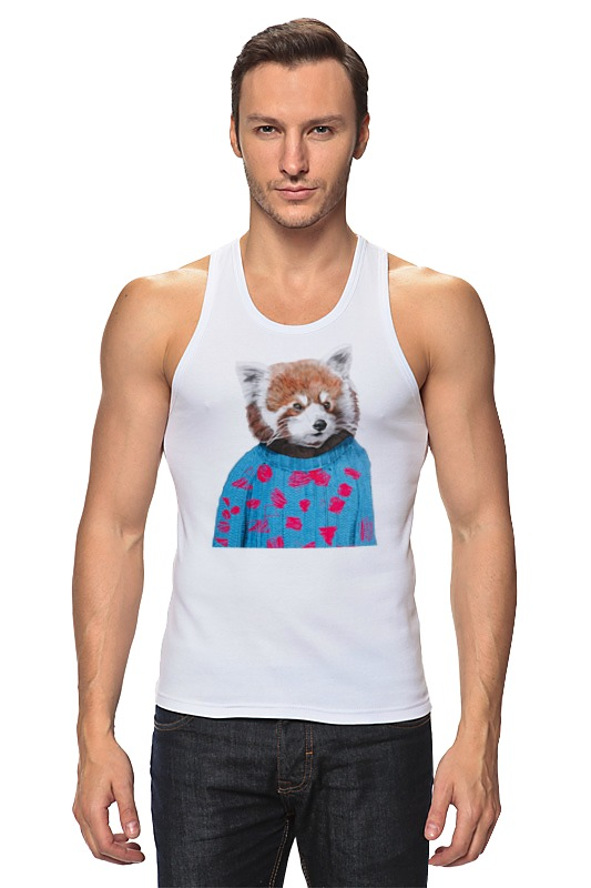 Майка классическая Printio Красная панда майка print bar любовь панды