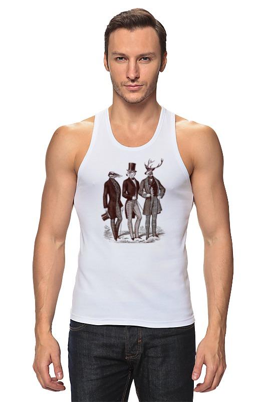 Майка классическая Printio Джентльмены футболка классическая printio джентльмены удачи