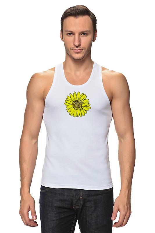 Фото - Майка классическая Printio Sunflower pu leather faux pearl sunflower choker