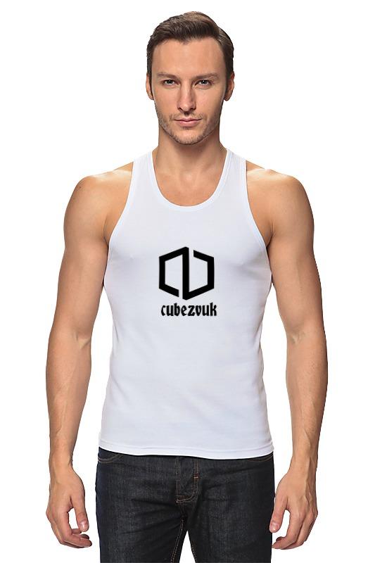 Майка классическая Printio Cubezvuk original футболка белая с принтом timberland ут 00011529