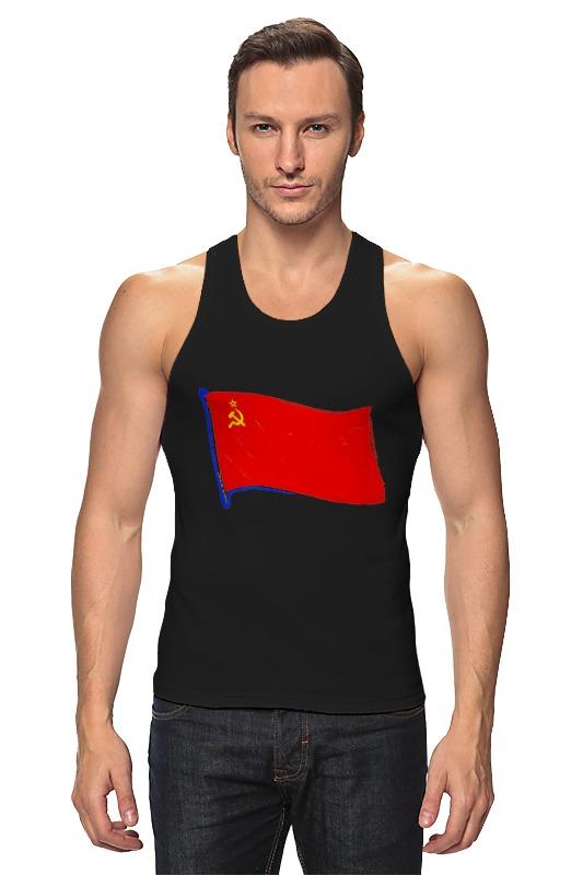 Майка классическая Printio Советский флаг майка борцовка print bar советский флаг