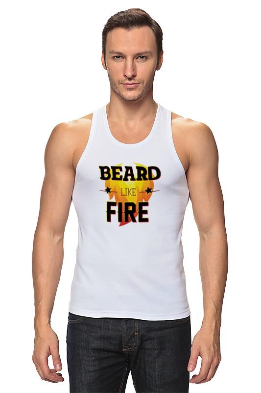 Майка классическая Printio Beard like fire