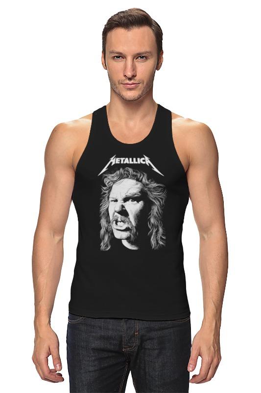 Майка классическая Printio Metallica майка классическая printio make em jingle