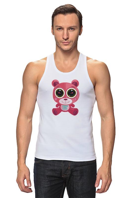 Printio Розовый мишка (bear) майка классическая printio мишка bear obey