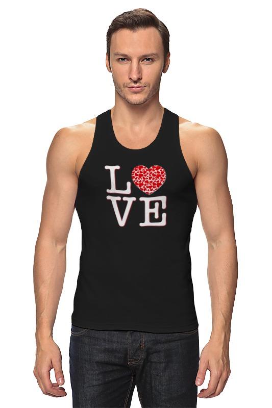 Майка классическая Printio Футболка любовь футболка классическая printio футболка любовь