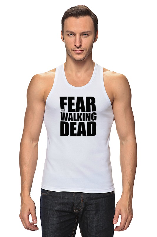 Майка классическая Printio Fear the walking dead the march against fear