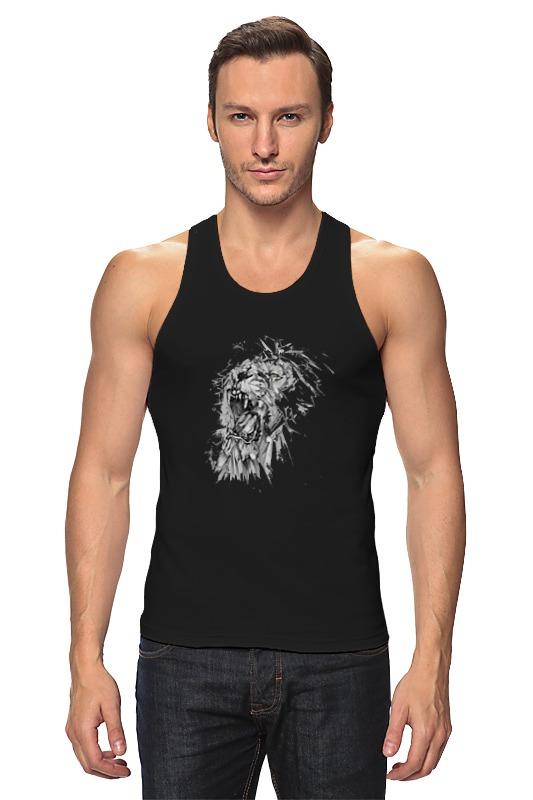 Майка классическая Printio Growl lion худи print bar skull lion