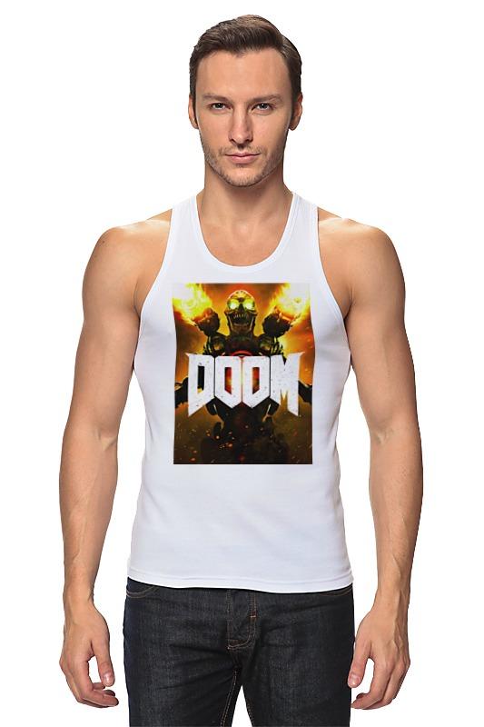 Майка классическая Printio Doom 4 майка борцовка print bar moon doom