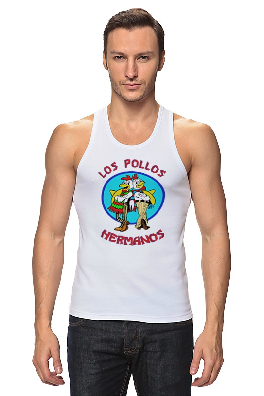 Майка классическая Printio Los pollos hermanos (breaking bad) los dias felices
