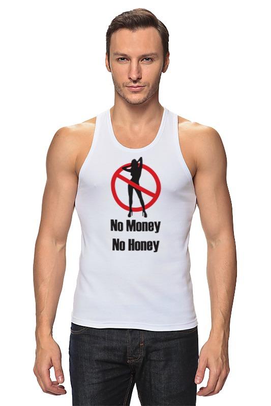 Майка классическая Printio No money no honey! (нет денет, нет меда!) сумка printio no money no honey