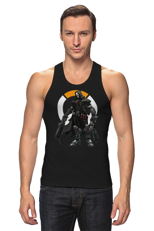 Майка классическая Printio Overwatch reaper / жнец овервотч reaper man
