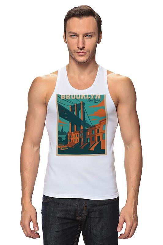 Майка классическая Printio Brooklyn футболка классическая printio brooklyn bike