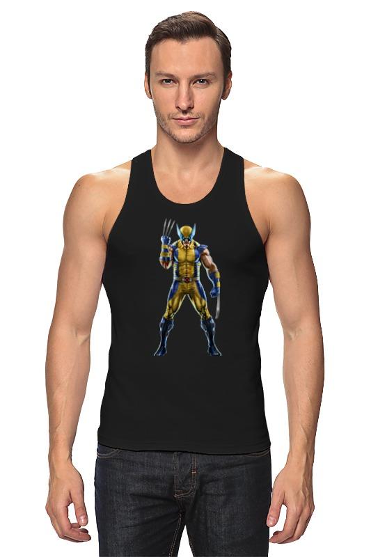Майка классическая Printio Wolverine / росомаха майка классическая printio сан хосе шаркс