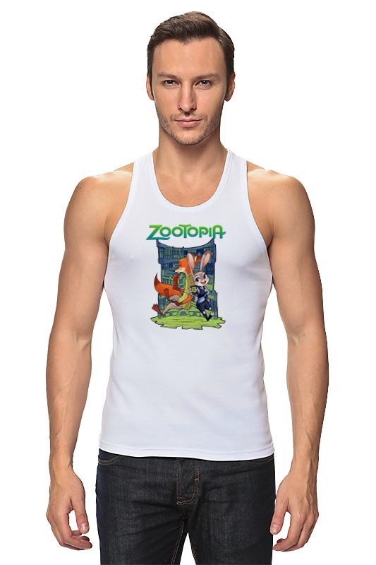 Майка классическая Printio Zootopia stylish long smoky gray movie zootopia judy hopps cosplay wig with double braided