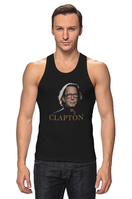 Майка классическая Printio Clapton eric clapton eric clapton 461 ocean boulevard