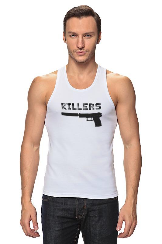 лучшая цена Майка классическая Printio The killers