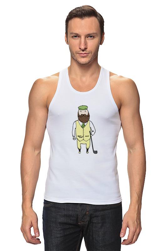 Майка классическая Printio Джентльмен с клюшкой для гольфа одежда для гольфа pgm kuz010 golf