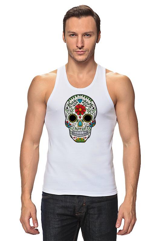 Майка классическая Printio Мексиканский череп мексиканский танец