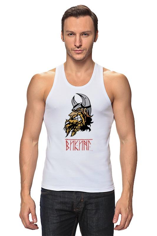 Майка классическая Printio Суровый викинг футболка викинг