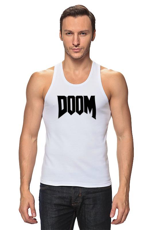 Майка классическая Printio Дум (doom) чехол для ноутбука 14 printio игра doom