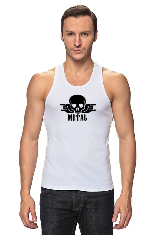 Майка классическая Printio Metal майка print bar black metal