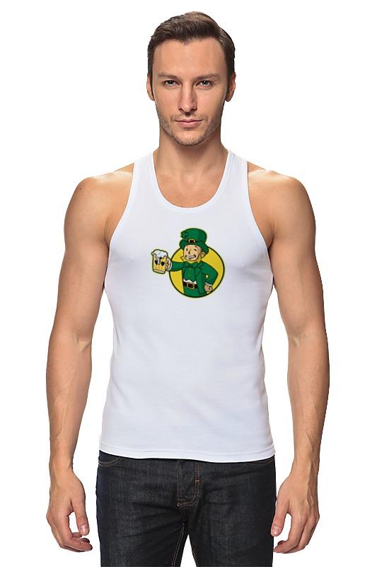 Майка классическая Printio Ирландец фэллаут футболка классическая printio fallout фэллаут